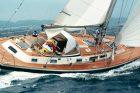 Hallberg Rassy 45 - La prova in mare