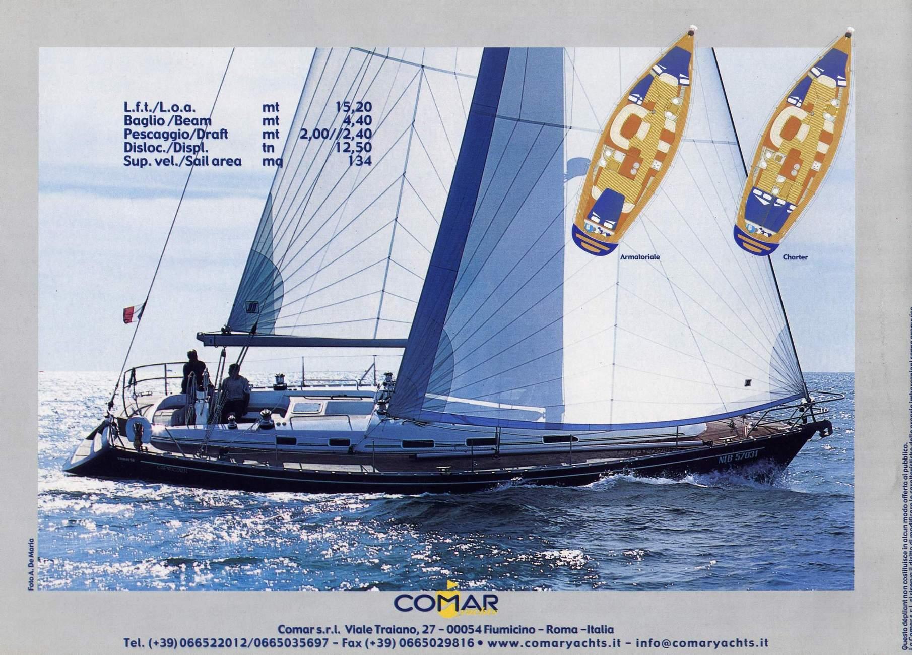 Comar Comet 50cl - Prova in mare